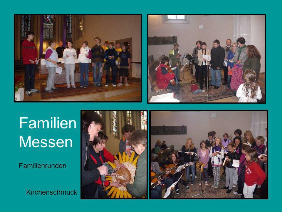 Familien Messen Kirchenschmuck Familienrunden