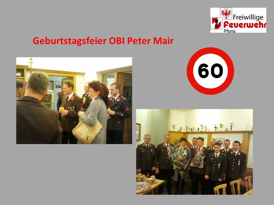Geburtstagsfeier OBI Peter Mair