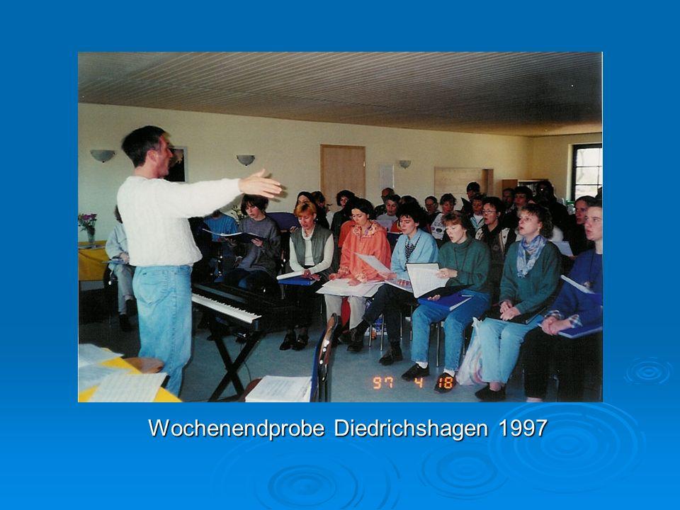 Wochenendprobe Diedrichshagen 1997