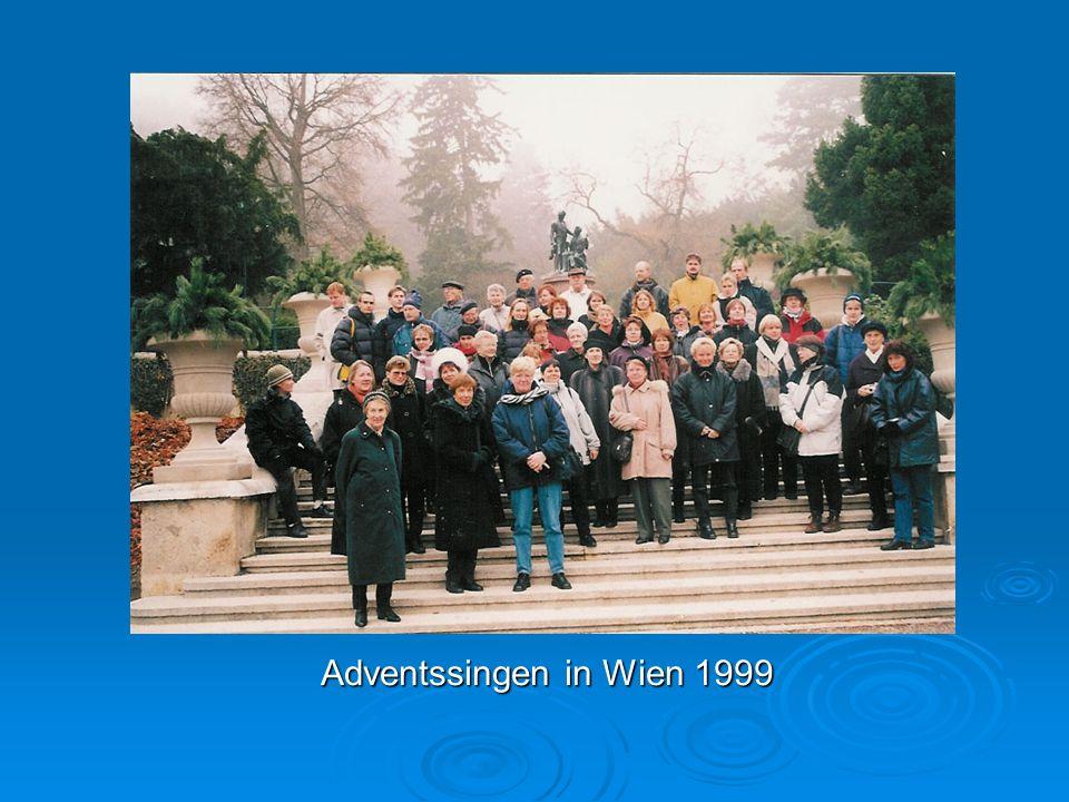 Adventssingen in Wien 1999
