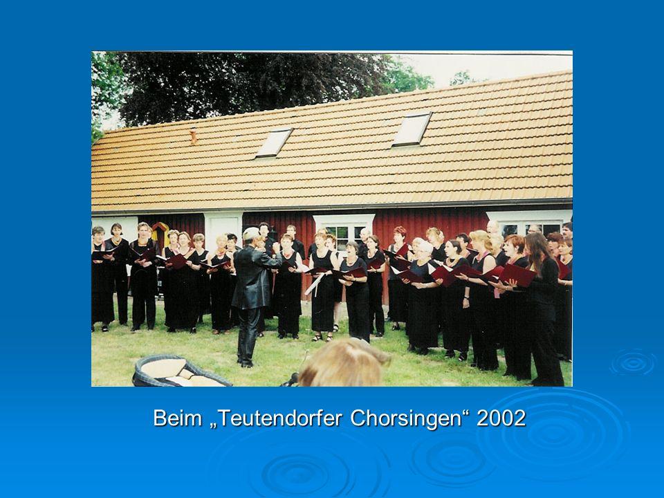 Beim Teutendorfer Chorsingen 2002