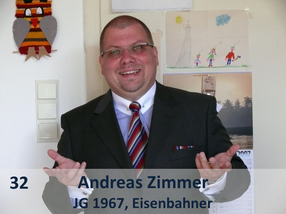 Andreas Zimmer JG 1967, Eisenbahner 32
