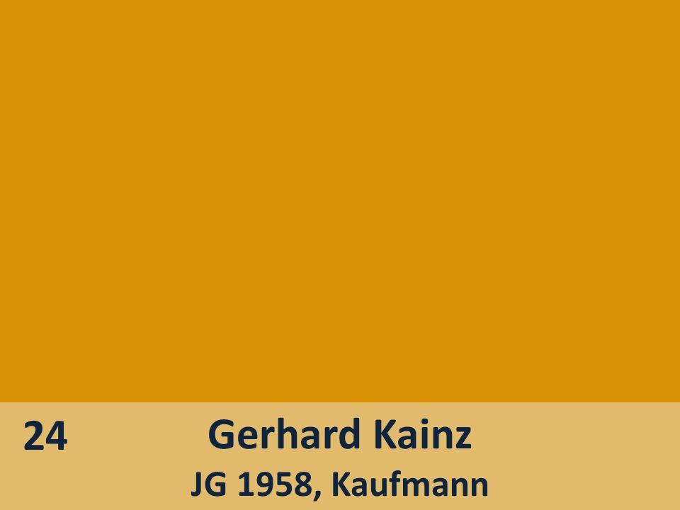 Gerhard Kainz JG 1958, Kaufmann 24