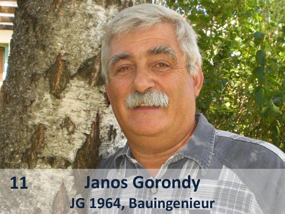 Janos Gorondy JG 1964, Bauingenieur 11