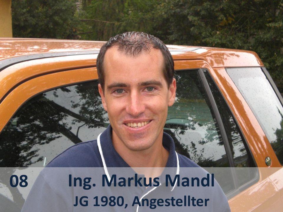 Ing. Markus Mandl JG 1980, Angestellter 08