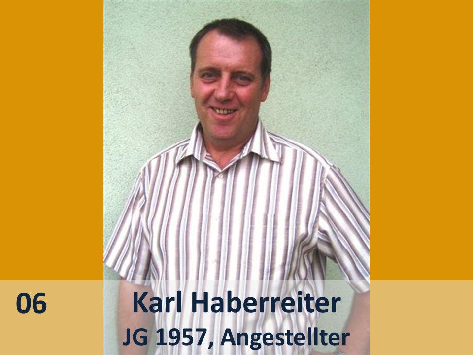 Karl Haberreiter JG 1957, Angestellter 06