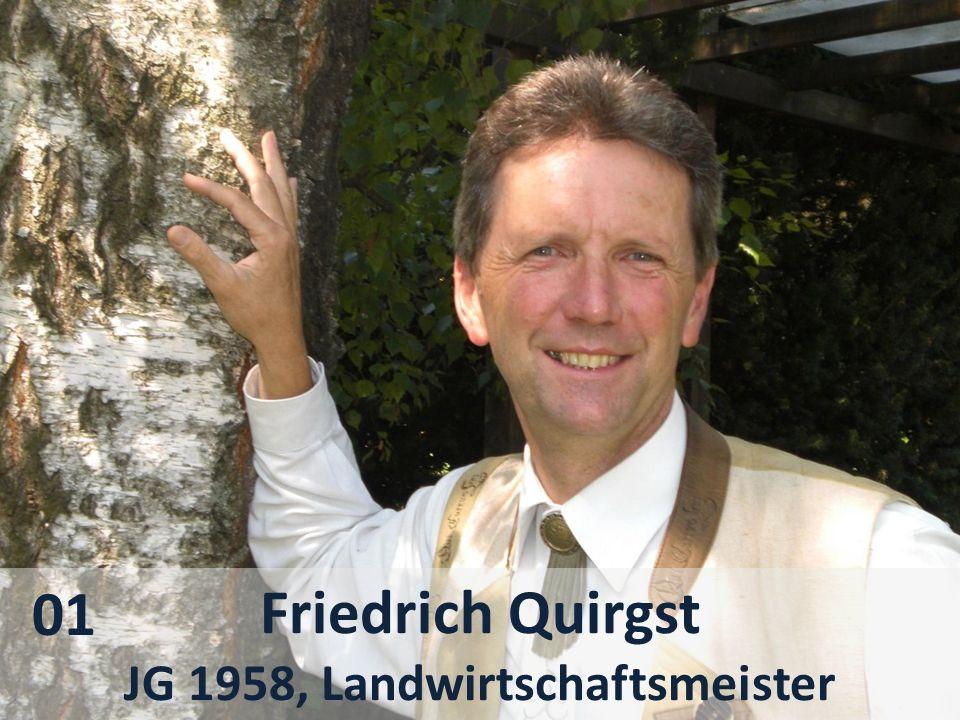 Friedrich Quirgst JG 1958, Landwirtschaftsmeister 01