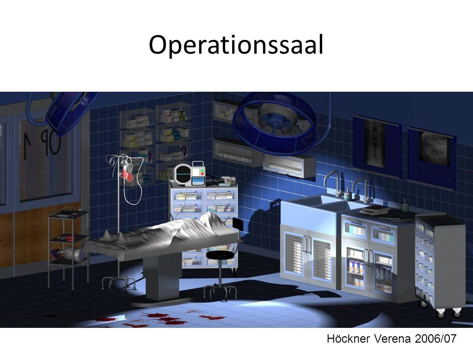 Operationssaal Höckner Verena 2006/07