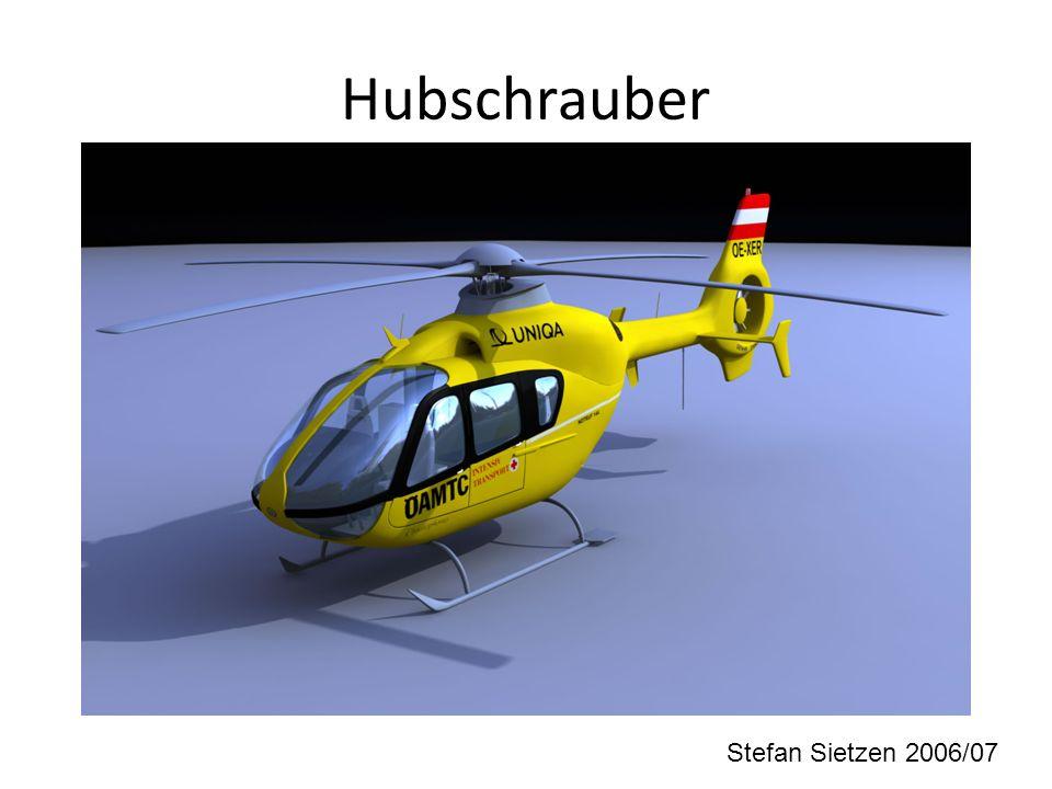 Hubschrauber Stefan Sietzen 2006/07