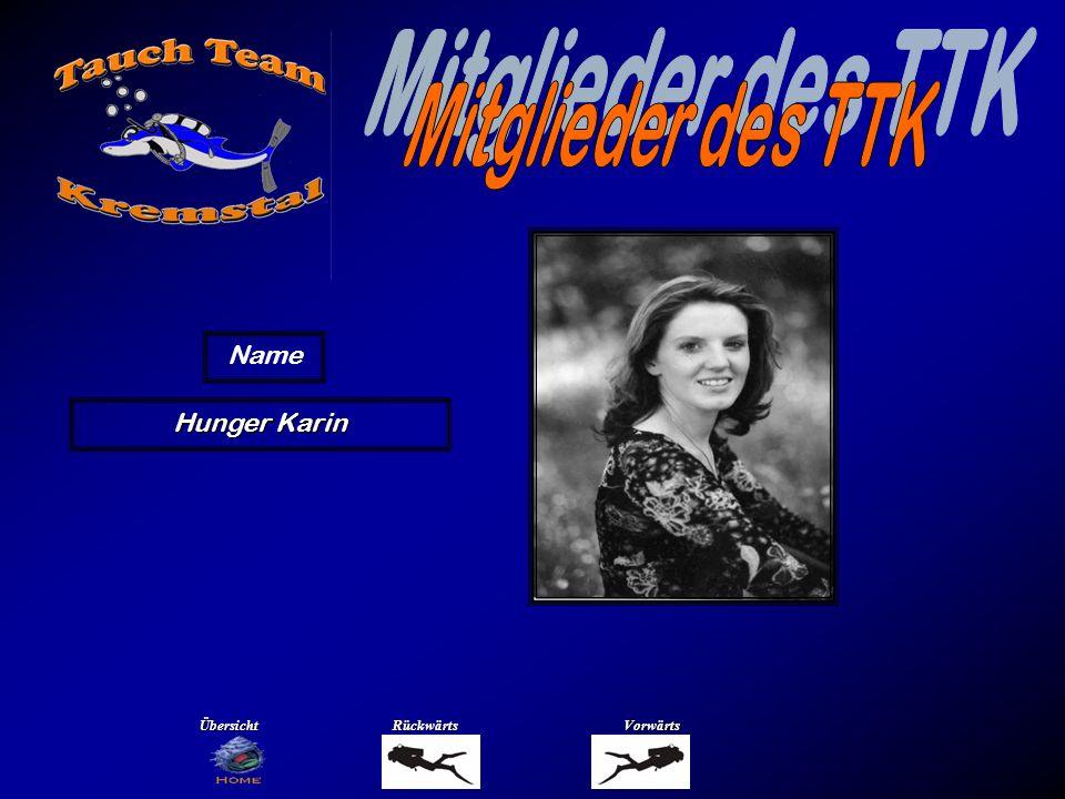 Hunger Karin Name ÜbersichtRückwärtsVorwärts