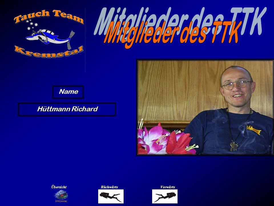 Hüttmann Richard Name ÜbersichtRückwärtsVorwärts