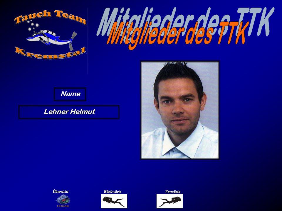 Lehner Helmut Name ÜbersichtRückwärtsVorwärts