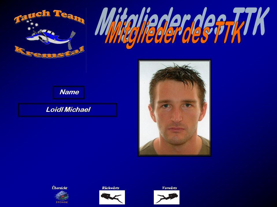 Loidl Michael Name ÜbersichtRückwärtsVorwärts