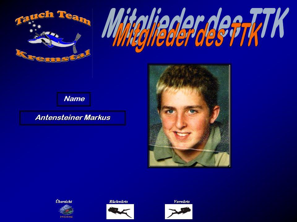 Antensteiner Markus Name ÜbersichtRückwärtsVorwärts