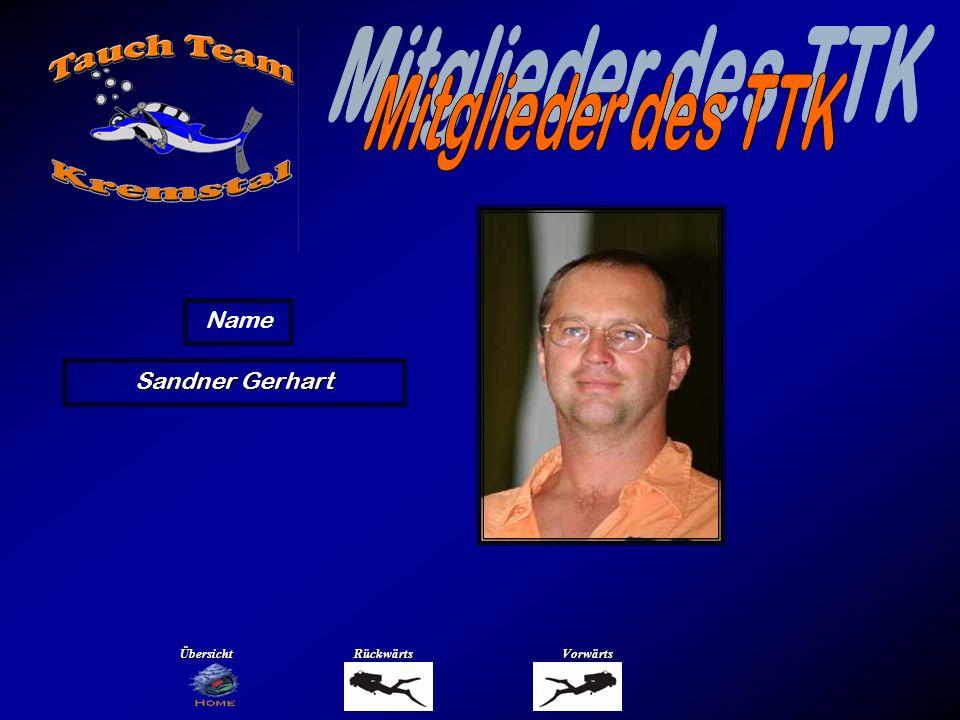 Sandner Gerhart Name ÜbersichtRückwärtsVorwärts