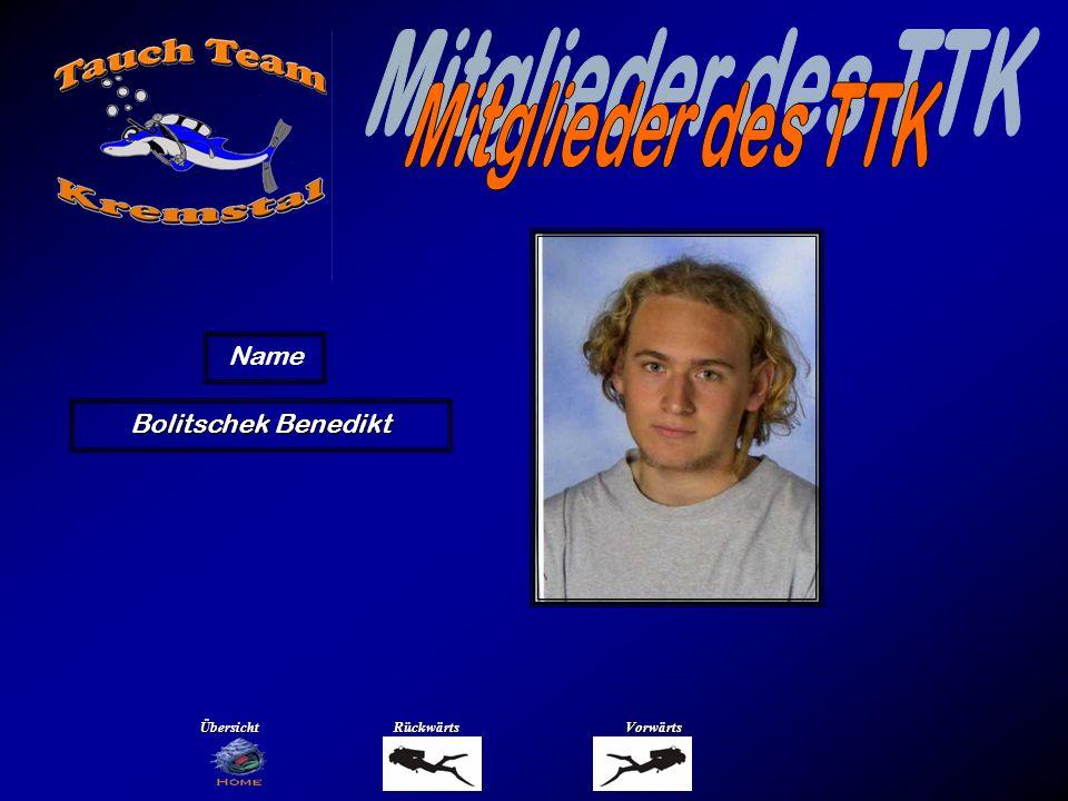 Bolitschek Benedikt Name ÜbersichtRückwärtsVorwärts