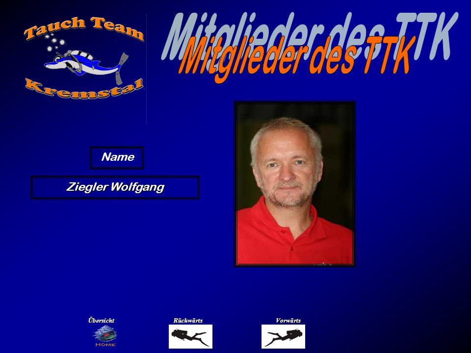 Ziegler Wolfgang Name ÜbersichtRückwärtsVorwärts