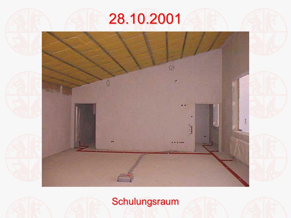 28.10.2001Schulungsraum