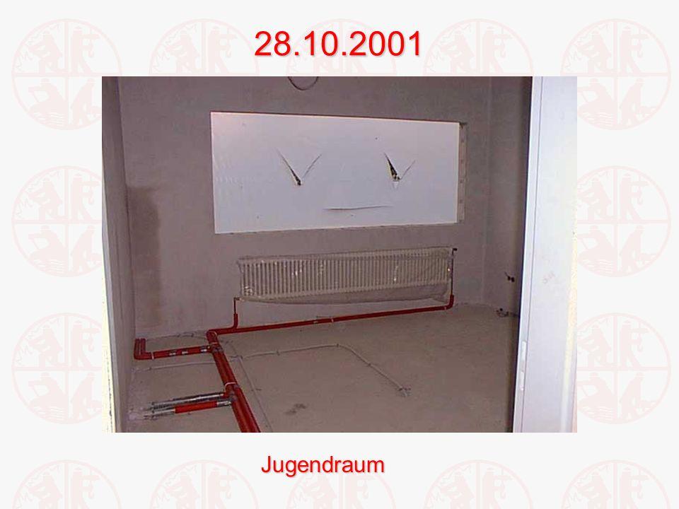 28.10.2001Jugendraum