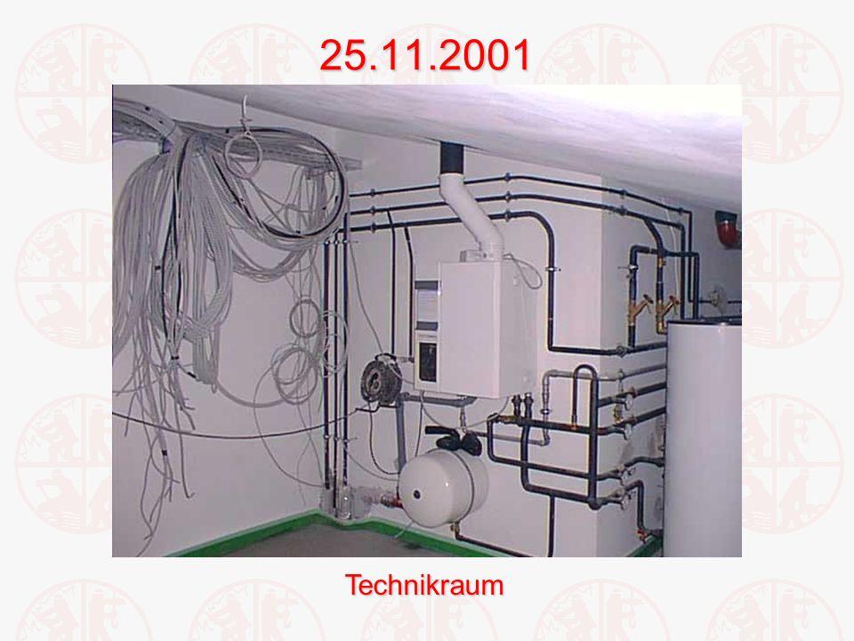 25.11.2001Technikraum