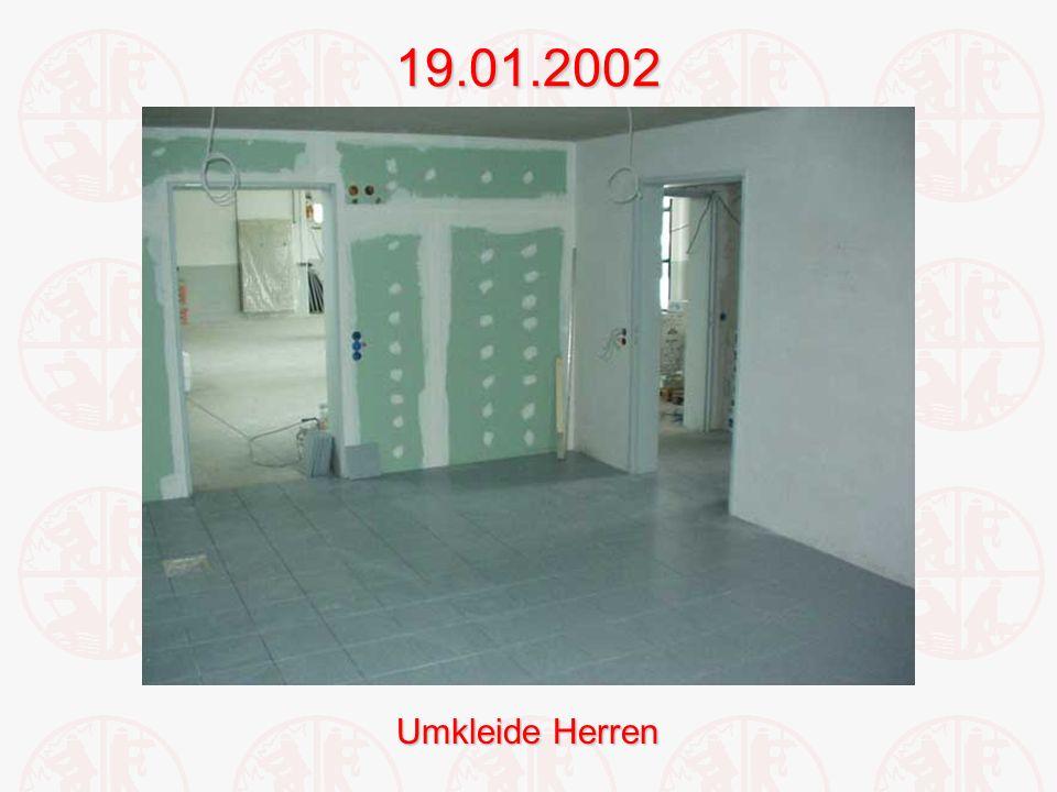 19.01.2002 Umkleide Herren