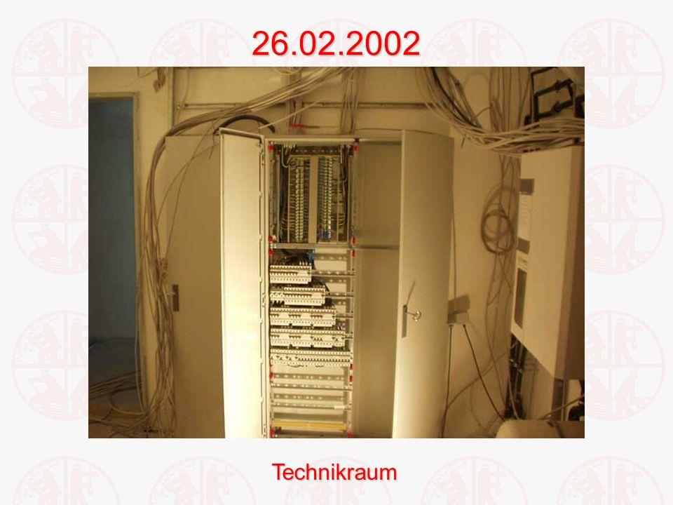 26.02.2002Technikraum