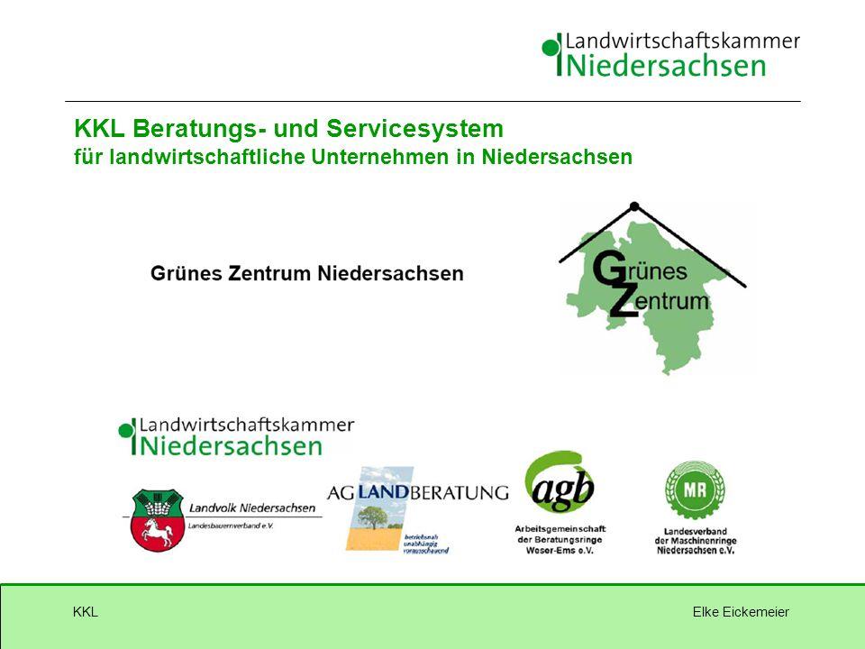 Elke EickemeierKKL KKL Beratungs- und Servicesystem für landwirtschaftliche Unternehmen in Niedersachsen