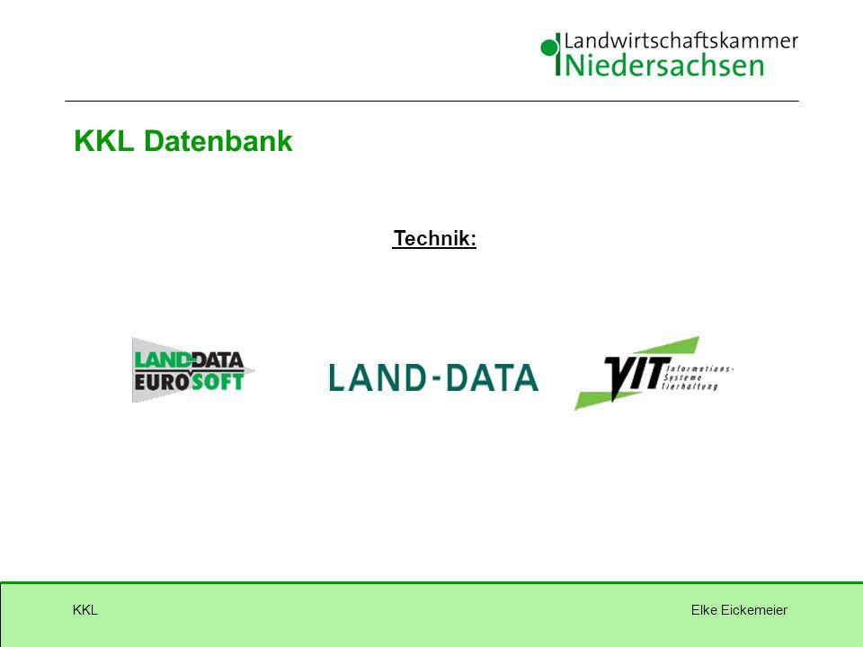 Elke EickemeierKKL KKL Datenbank Technik:
