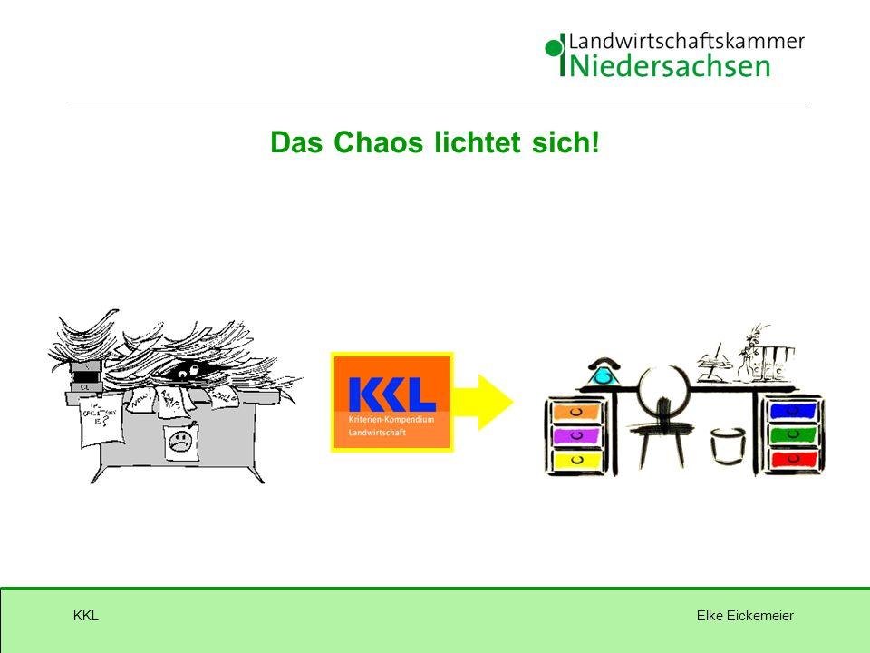 Elke EickemeierKKL Das Chaos lichtet sich!