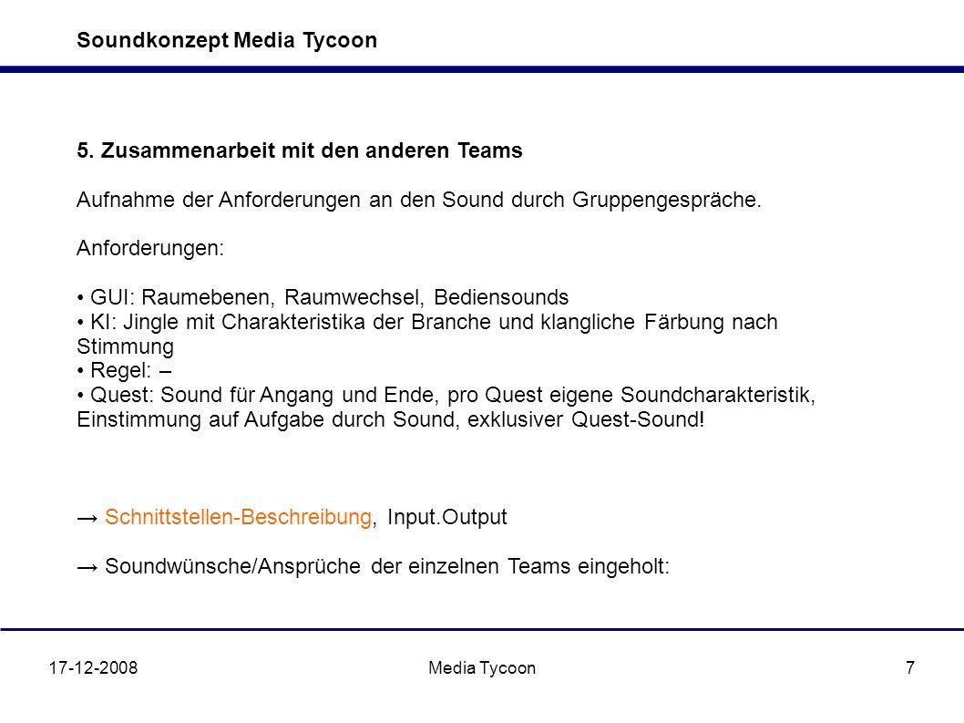 Soundkonzept Media Tycoon 17-12-2008Media Tycoon7 5.