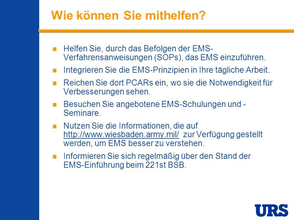 Employee Presentation 3-00 - p 21 Wie können Sie mithelfen.