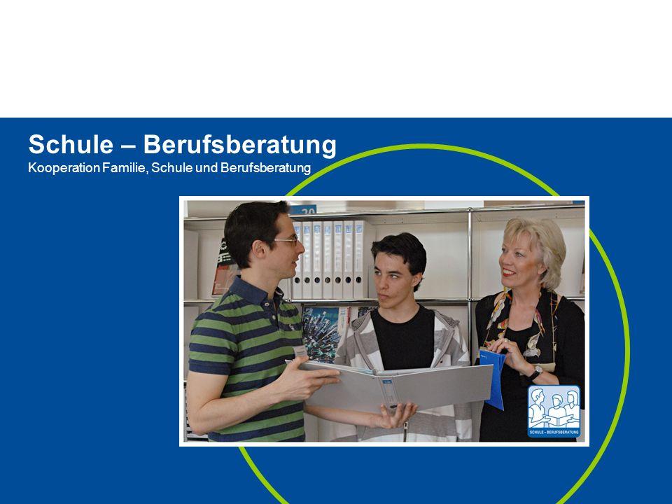 Seite 6 Neugestaltung 3. Sek Seite 6 17. Mai 2014Thema Schule – Berufsberatung Kooperation Familie, Schule und Berufsberatung