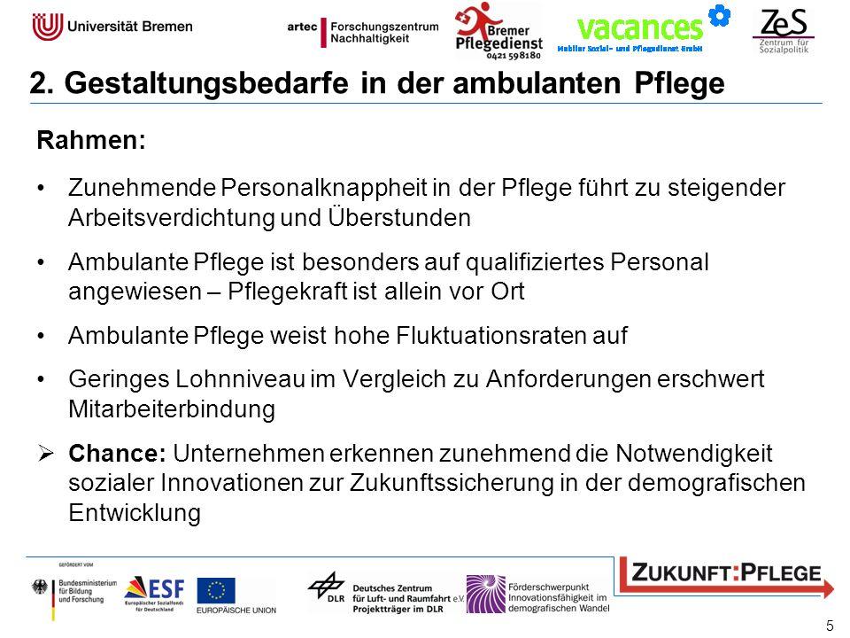 Integration von Interaktion und Koordination Neue Handlungsressourcen für Pflege- und Führungskräfte, z.B.