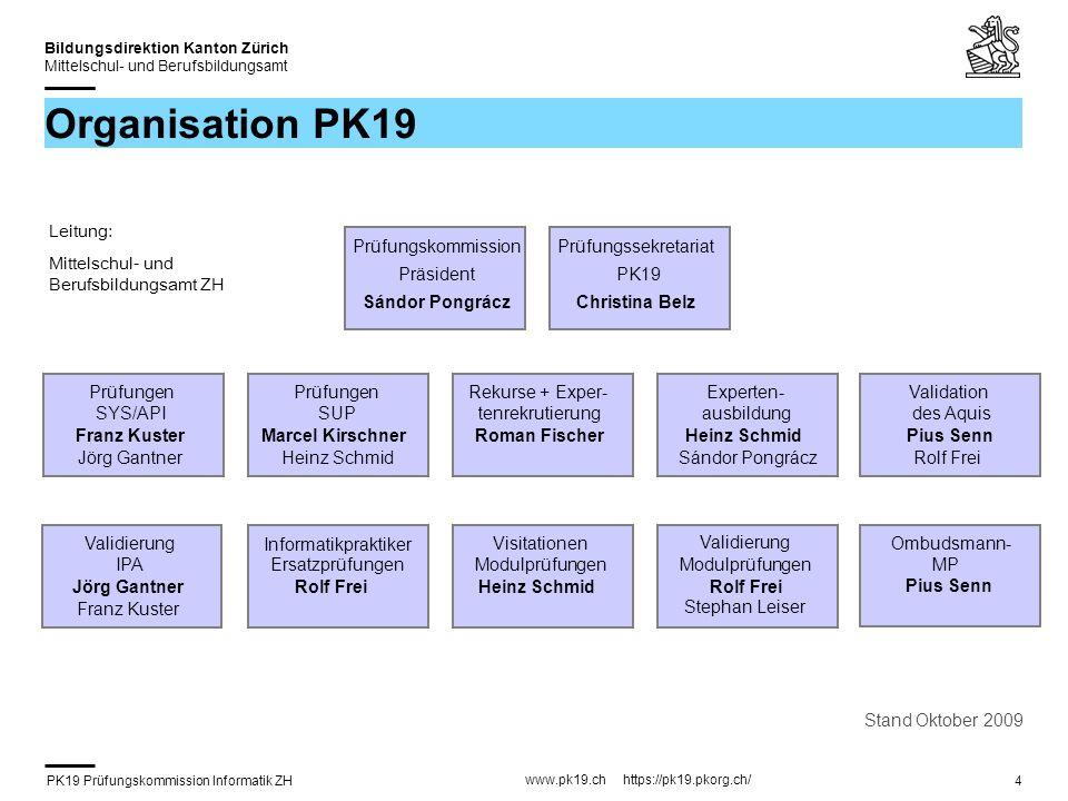 PK19 Prüfungskommission Informatik ZH www.pk19.ch https://pk19.pkorg.ch/ Bildungsdirektion Kanton Zürich Mittelschul- und Berufsbildungsamt 15 FA Themensuche (1) 1.