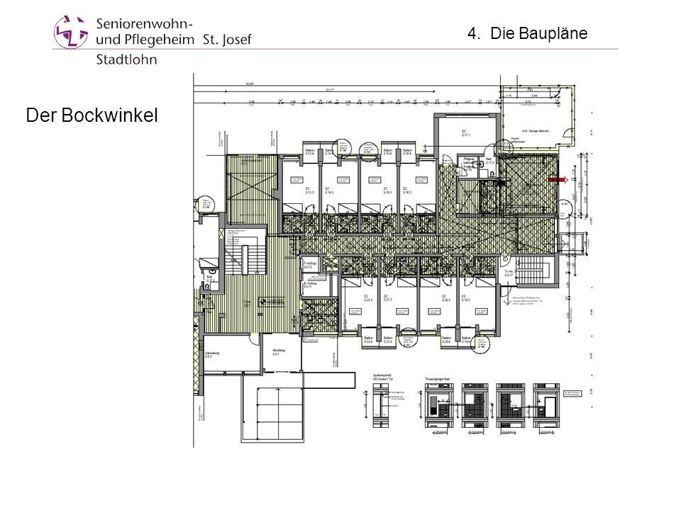 Der Bockwinkel 4. Die Baupläne