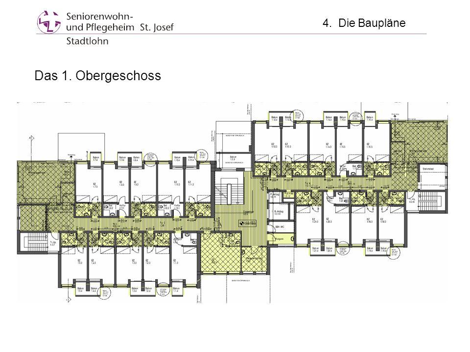 Das 1. Obergeschoss 4. Die Baupläne
