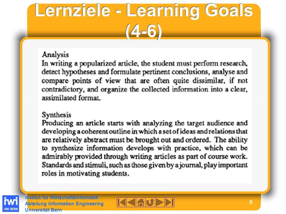 Institut für Wirtschaftsinformatik Abteilung Information Engineering Universität Bern 29 Thema 10 TitelVendor Managed Inventory und Collaborative Managed Inventory StudentBerger Sandra Literatur[Tempelmeier (2003)], [Knolmayer/Mertens/Zeier (2000)], [Taras (2004)], [Kumar/Kumar (2003)], [IDEAS (2004)], [Fieldworks (2000)], [Pohlen/Goldsby (2003)], [Disney/Towill (2003)], [Disney/Towill (2002)], [Cheung/Lee (2002)], [Kaipia/Holmström/Tanskanen (2002)], [Holmstrom (1998)] ZieleWas wird unter diesen Begriffen verstanden.