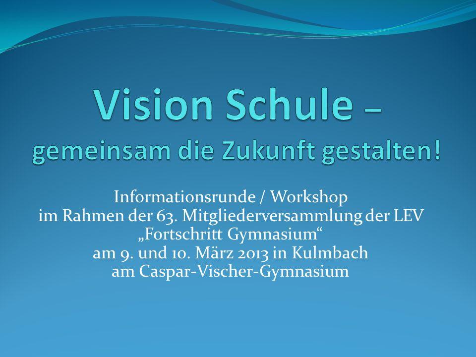 Informationsrunde / Workshop im Rahmen der 63.