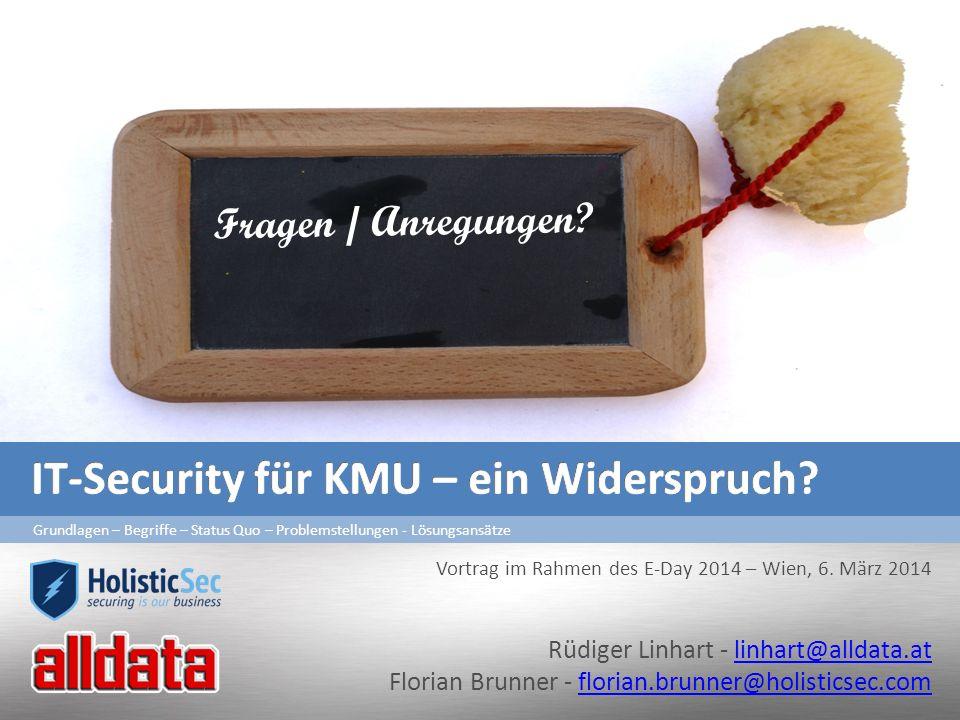 Rüdiger Linhart - linhart@alldata.atlinhart@alldata.at Florian Brunner - florian.brunner@holisticsec.comflorian.brunner@holisticsec.com Grundlagen – B