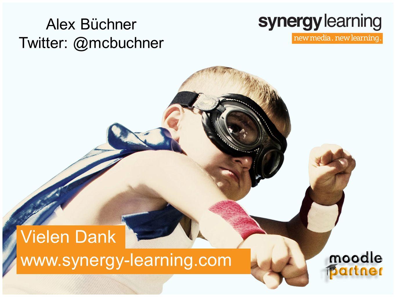 www.synergy-learning.com Vielen Dank Alex Büchner Twitter: @mcbuchner