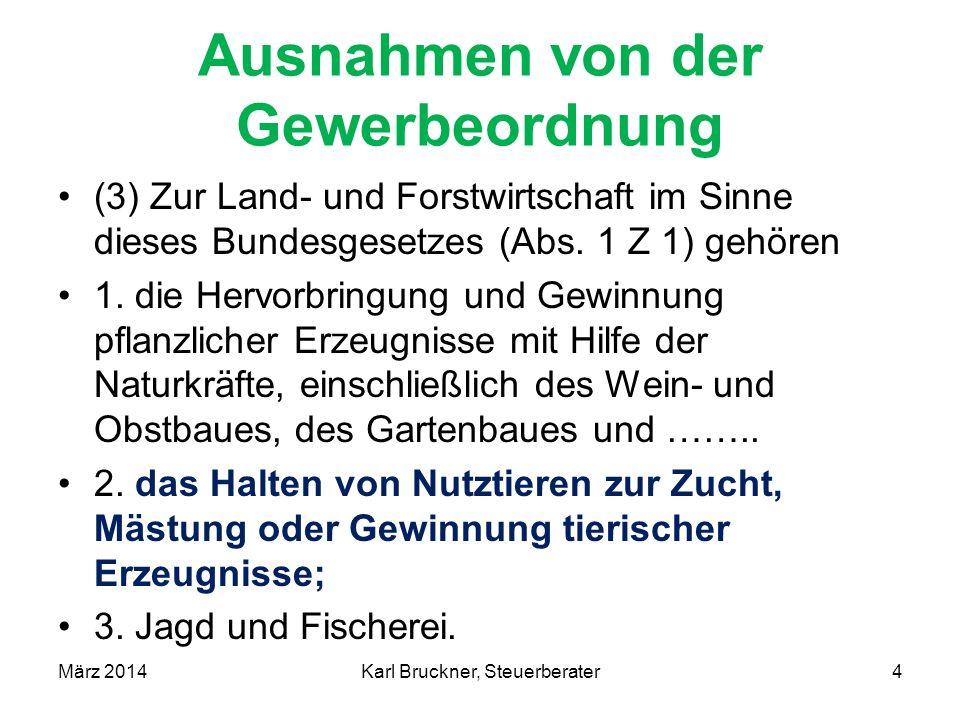 Einkünfte aus Land- und Forstwirtschaft Beispiel: Betrieb 28 ha ldw.