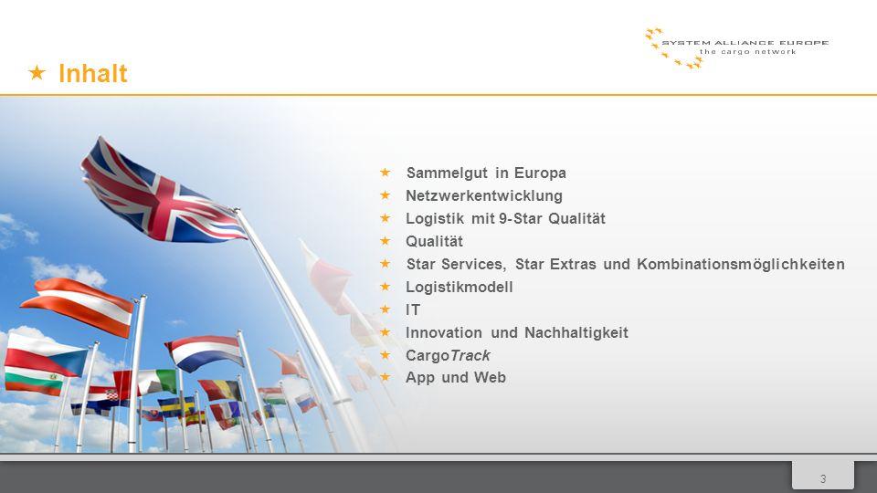 014 Sammelgut in Europe Zur Partnerkarte 54 Partner in 27 Ländern mit 187 Betrieben