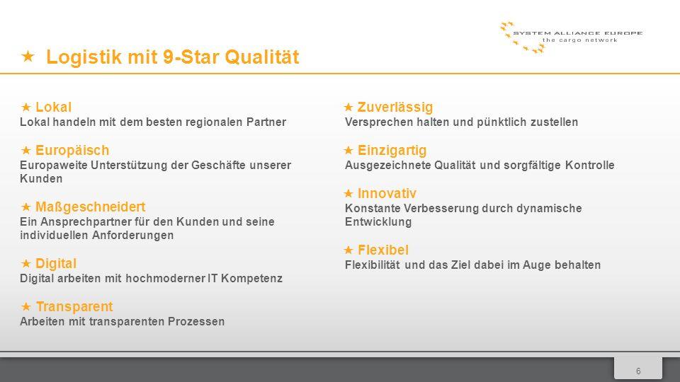 017 Qualität Standardisierte Qualitäts- und Leistungsanforderungen: Arbeitshandbuch Organisation/Qualität als Leitfaden Höchster Qualitätsanspruch wird durch regelmäßige Analysen in Kombination mit einem Bonus/Malus System sicher gestellt.