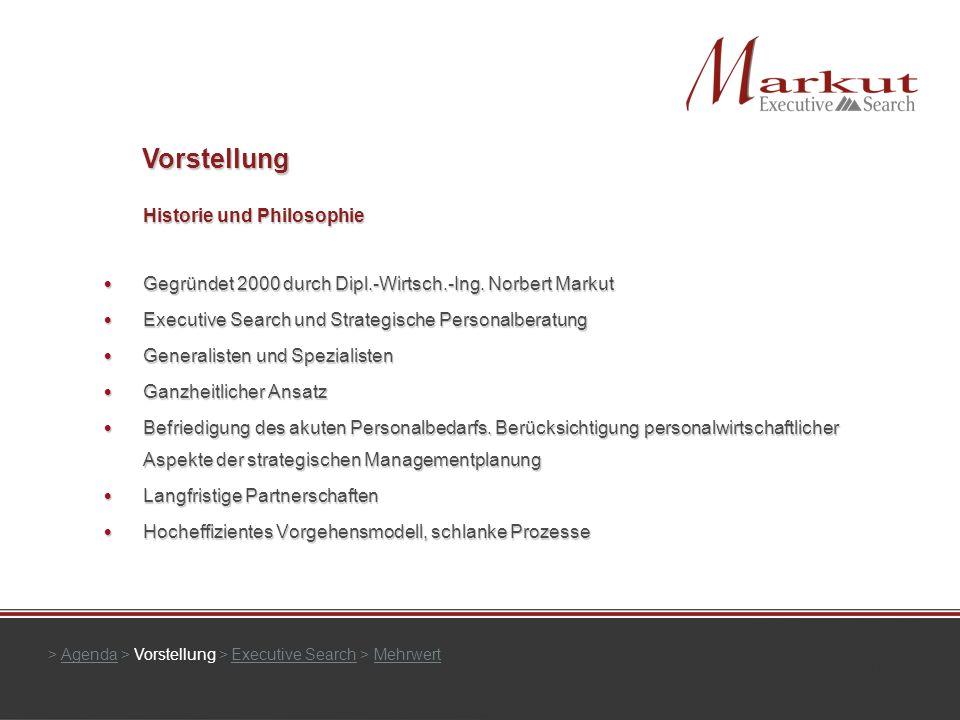 Historie und Philosophie Gegründet 2000 durch Dipl.-Wirtsch.-Ing. Norbert Markut Gegründet 2000 durch Dipl.-Wirtsch.-Ing. Norbert Markut Executive Sea