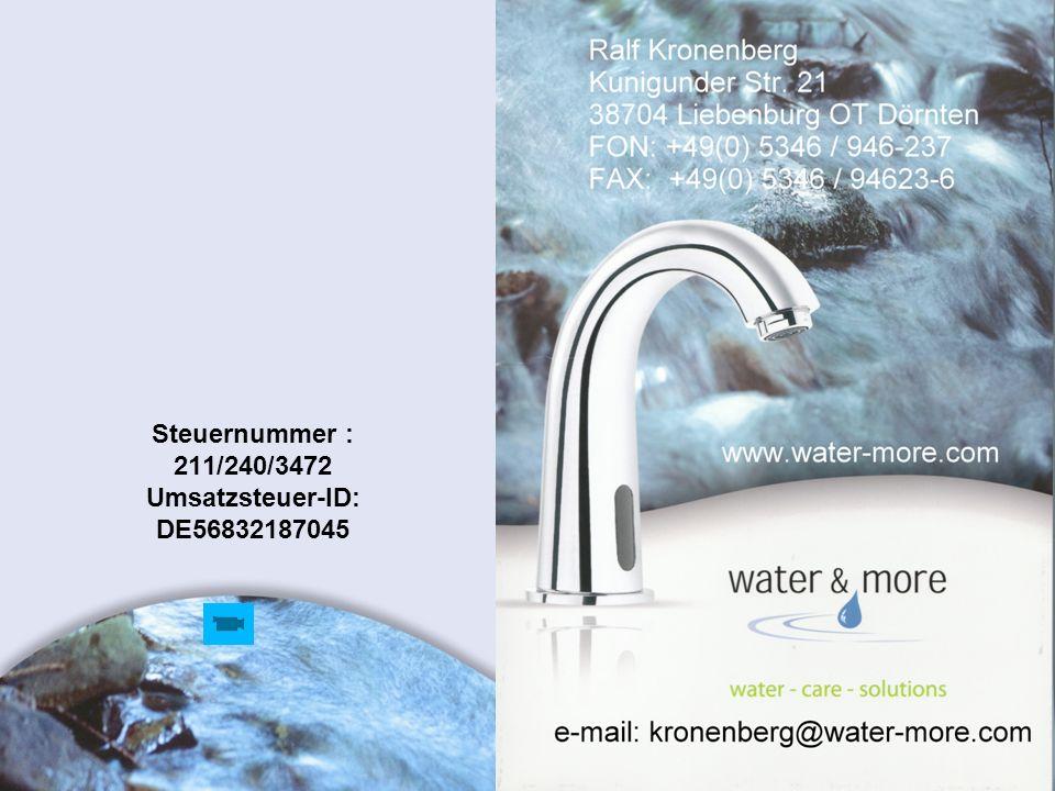 23 Steuernummer : 211/240/3472 Umsatzsteuer-ID: DE56832187045