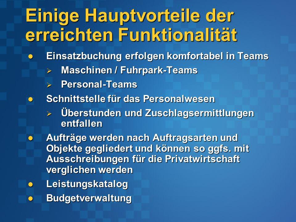 Integration elektronischer Formulare (ab Office 2003)