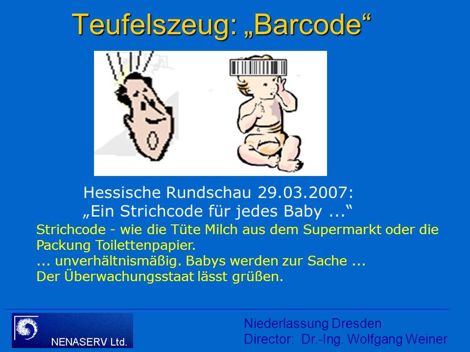Niederlassung Dresden Director: Dr.-Ing. Wolfgang Weiner Sicherung der Prozeßqualität von Screenings durch Einführung einer Screening - ID Titel