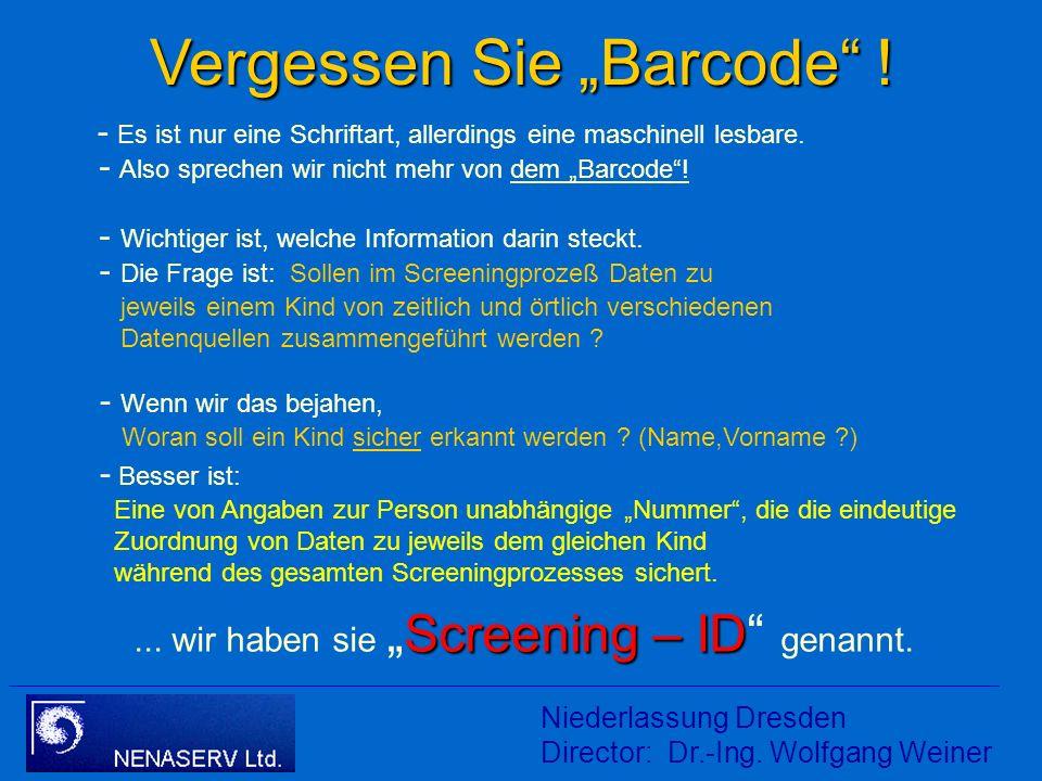 Teufelszeug: Barcode Hessische Rundschau 29.03.2007: Ein Strichcode für jedes Baby... Strichcode - wie die Tüte Milch aus dem Supermarkt oder die Pack