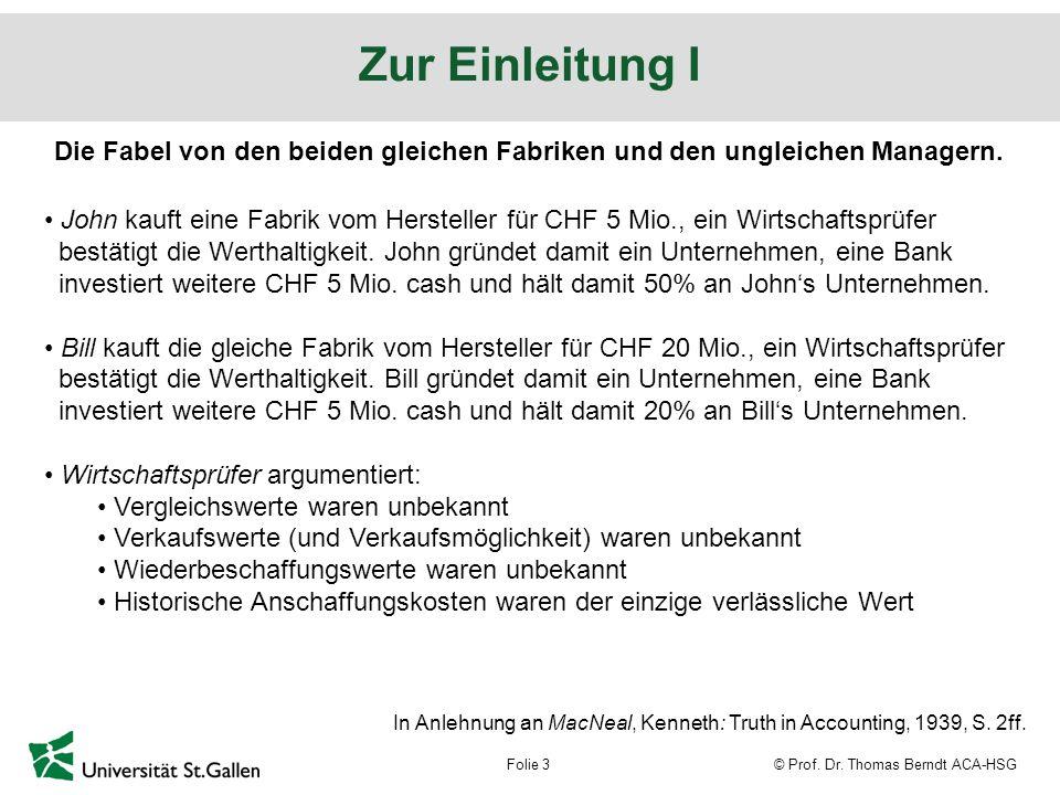 © Prof. Dr. Thomas Berndt ACA-HSGFolie 14 backup