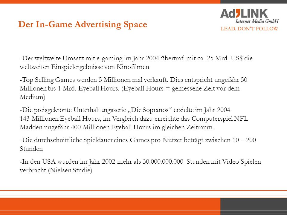 Source: Arbitron, US Television Bureau of Advertising, Entertainment Software Association and Yankee Group, 2005)